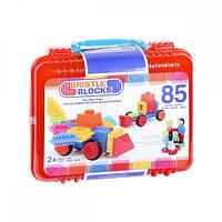 Конструктор игольчатый Battat Bristle Blocks Большой чемоданчик 85 деталей