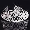 Диадема тиара для волос Келли Тиара Виктория корона высокая диадемы, фото 2
