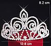 Диадема тиара для волос Келли Тиара Виктория корона высокая диадемы, фото 3