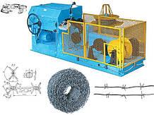 Станок автоматический изготовления колючей проволоки (станок по виготовленню колючого дроту)