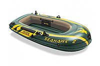 Лодка надувнаяIntex 68346Seahawk на 2 человек