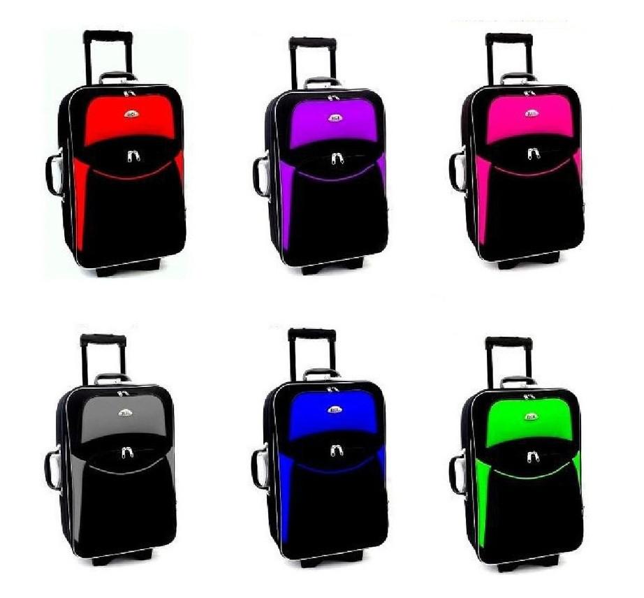 4b99998b415e Дорожный чемодан на колесах RGL 773 (средний) 5 колес - Интернет-магазин