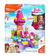 Конструктор Mega Bloks Barbie Челси-русалочка карусель морской конек