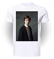 Футболка GeekLand Гарри Поттер Harry Potter на сером фоне GP.01.033