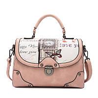 Женская модная сумочка  с принтом Лондон.