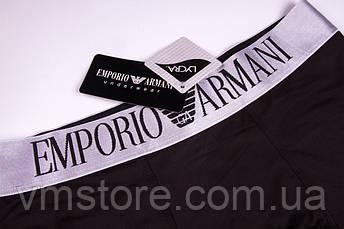 Трусы мужские в стиле бренда Emporio Armani, черный, L (48), фото 2