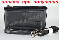 Чоловіча чоловіча модна шкіряна барсетка клатч гаманець Langsla купити, фото 1