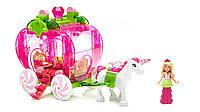 Конструктор Барби Дримтопия карета-клубничка - Mega Bloks Barbie, фото 1