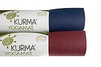 Коврик (йога мат) для йоги и фитнеса ПВХ 183х66см Wunderlich Kurma Sadhana
