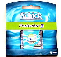 Сменные кассеты для бритья Schick Protector 3 4 шт