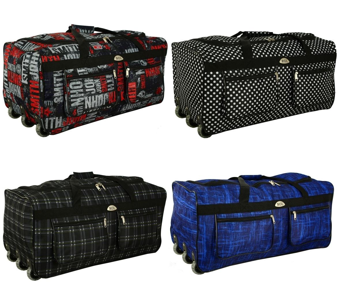 a4dbe936ba4c Дорожная сумка на колесах RGL A1 88 л с выдвижной ручкой - Интернет-магазин
