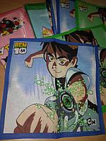 Носовые платочки детские для мальчиков, фото 1