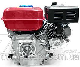 Двигатель для мотоблока 170F  d=20mm под шпонку (7,5 HP, датчик масла , бумажный фильтр)