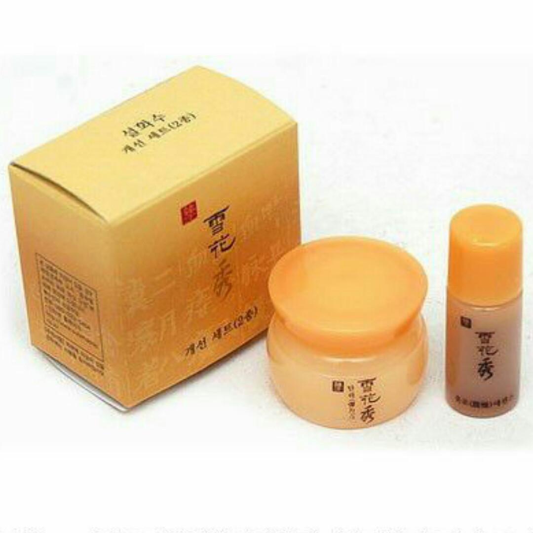 Набір Крем для обличчя і Перша сироватка Sulwhasoo Renewing Firming Kit Мініатюри 5 ml + 4ml