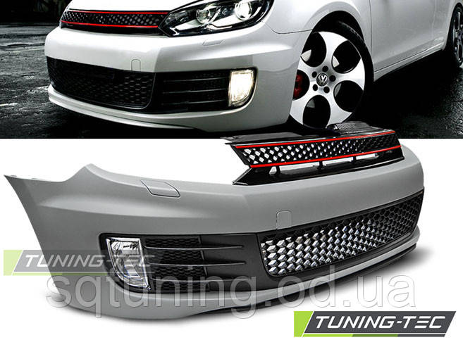 Бампер передний ZDERZAK PRZEDNI VW GOLF 6 GTI STYLE