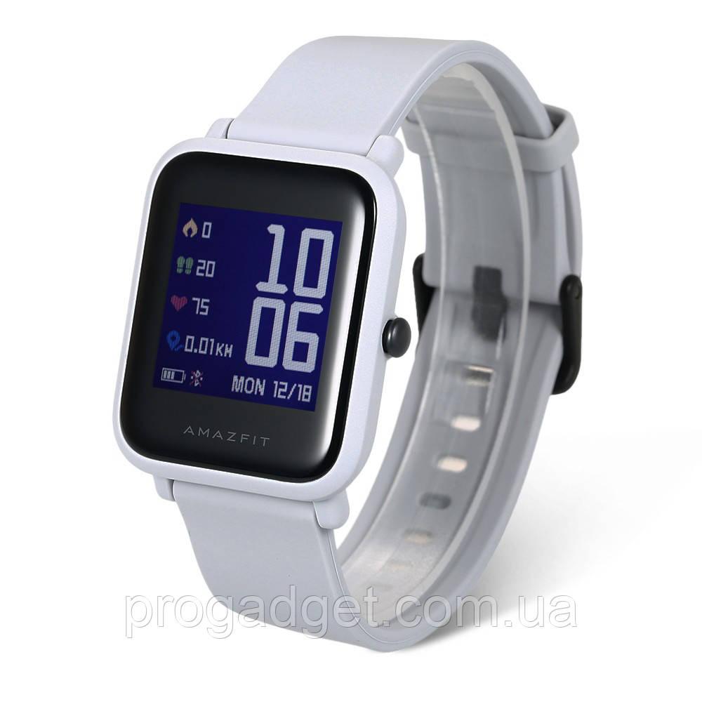 Xiaomi Huami AMAZFIT Bip grey (бежевый) А1608 GPS Running Smartwatch - Лучшие умные часы!