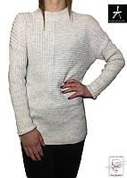 Женский свитер светло-серый Atmosphere туника р. S 42