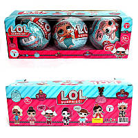 LOL 1 серия кукла-сюрприз в шаре (макси), набор 3 шт, фото 1