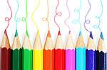 Цветные карандаши. Их роль в детском творчестве.