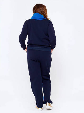 Спортивный костюм больших размеров Тукан синий, фото 2