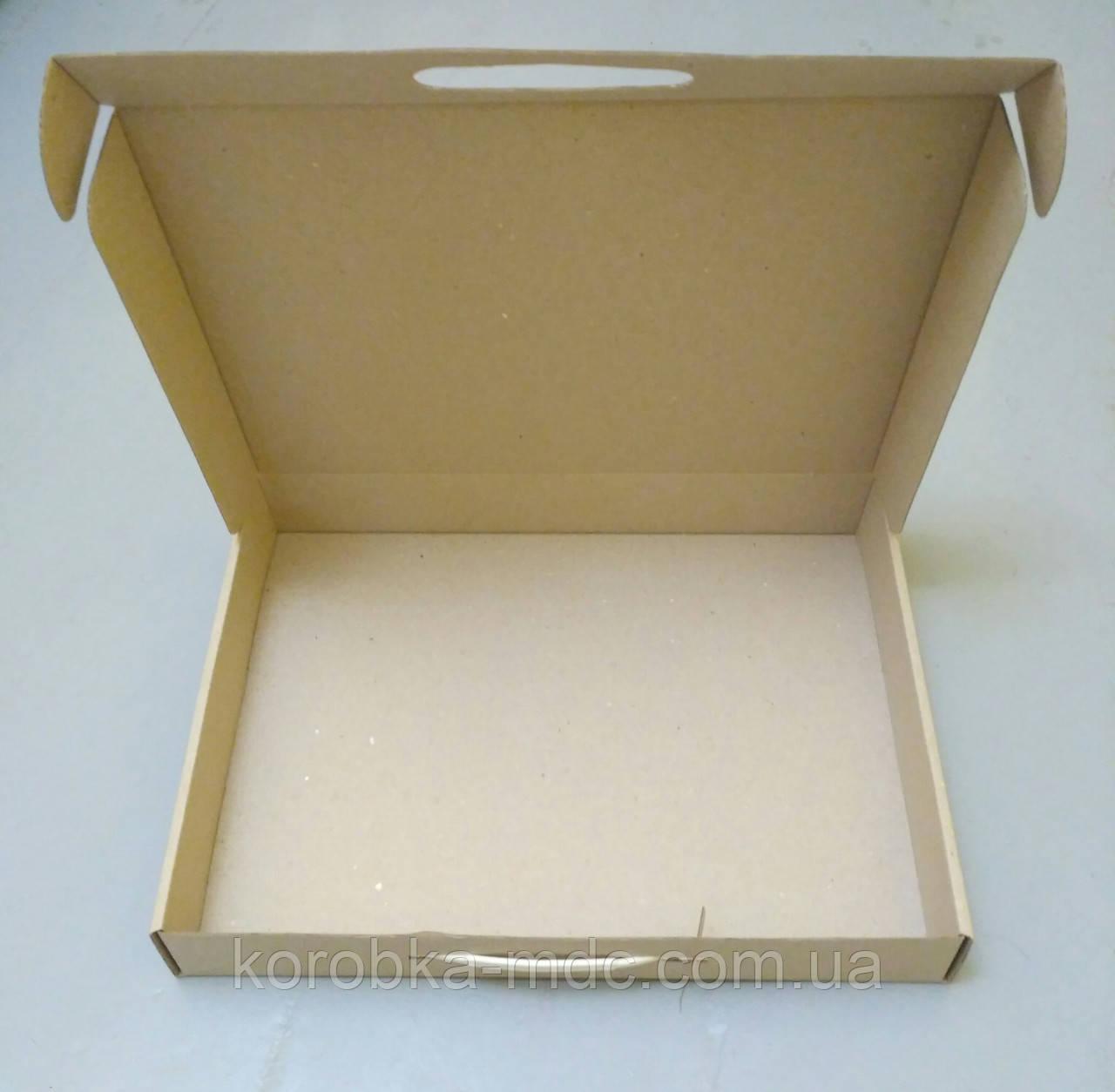 Коробка самосборная 374х288х54  (шкатулка) под постельное белье