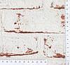 3д Обои i- 970813, фактурные кирпичи красно белого цвета, моющиеся виниловые, на флизелиновой основе, фото 4