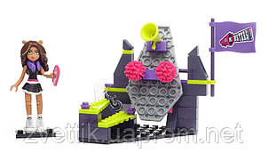 П, Конструктор Mega Bloks Monster High Командный дух Клодин Вульф