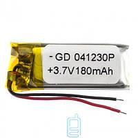 Аккумулятор GD 041230P 200mAh Li-ion 3.7V