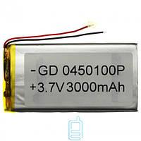 Аккумулятор GD 0450100P 3000mAh Li-ion 3.7V