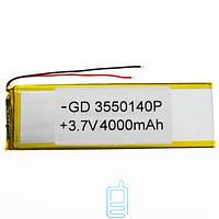 Аккумулятор GD 3550140P 3600mAh Li-ion 3.7V