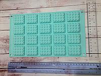 Силиконовая форма печенье квадратное