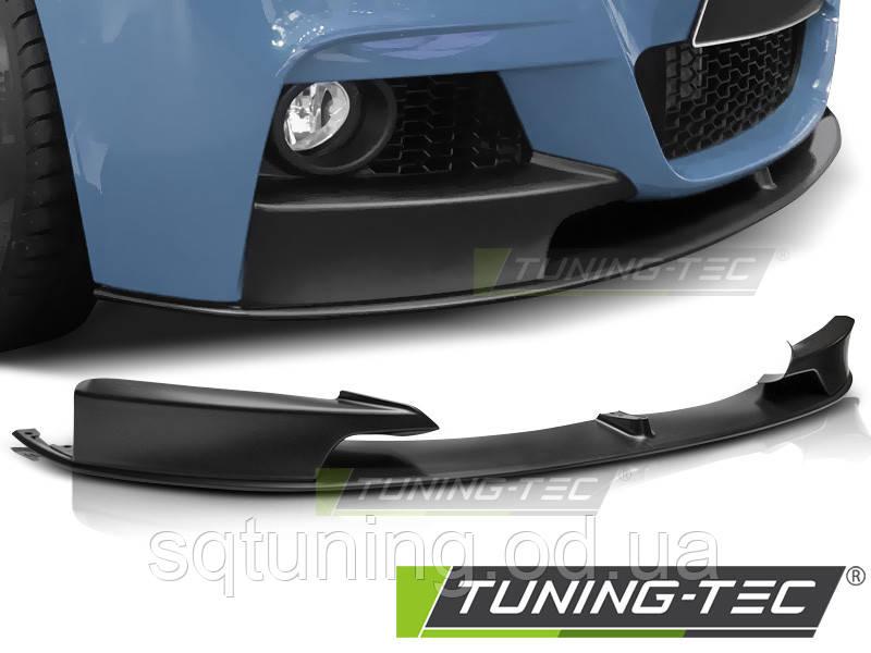 Спойлер бампера SPOJLER FRONT BMW F30/F31 11- M PERFORMANCE