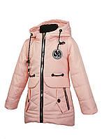 Куртка для девочки  1927 весна-осень, размеры на рост от 98 до122 возраст от 3 до 6 лет, фото 1