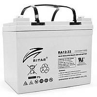 Батарея к ИБП Ritar AGM RA12-33, 12V-33Ah (RA12-33)