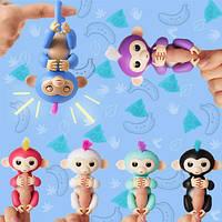 Finger Monkey Интерактивная игрушка ручная обезьянка на палец, фото 1