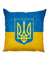 Подушка флаг и герб Украины