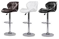 Барный стул Hoker Castel со спинкой и подставкой для ног
