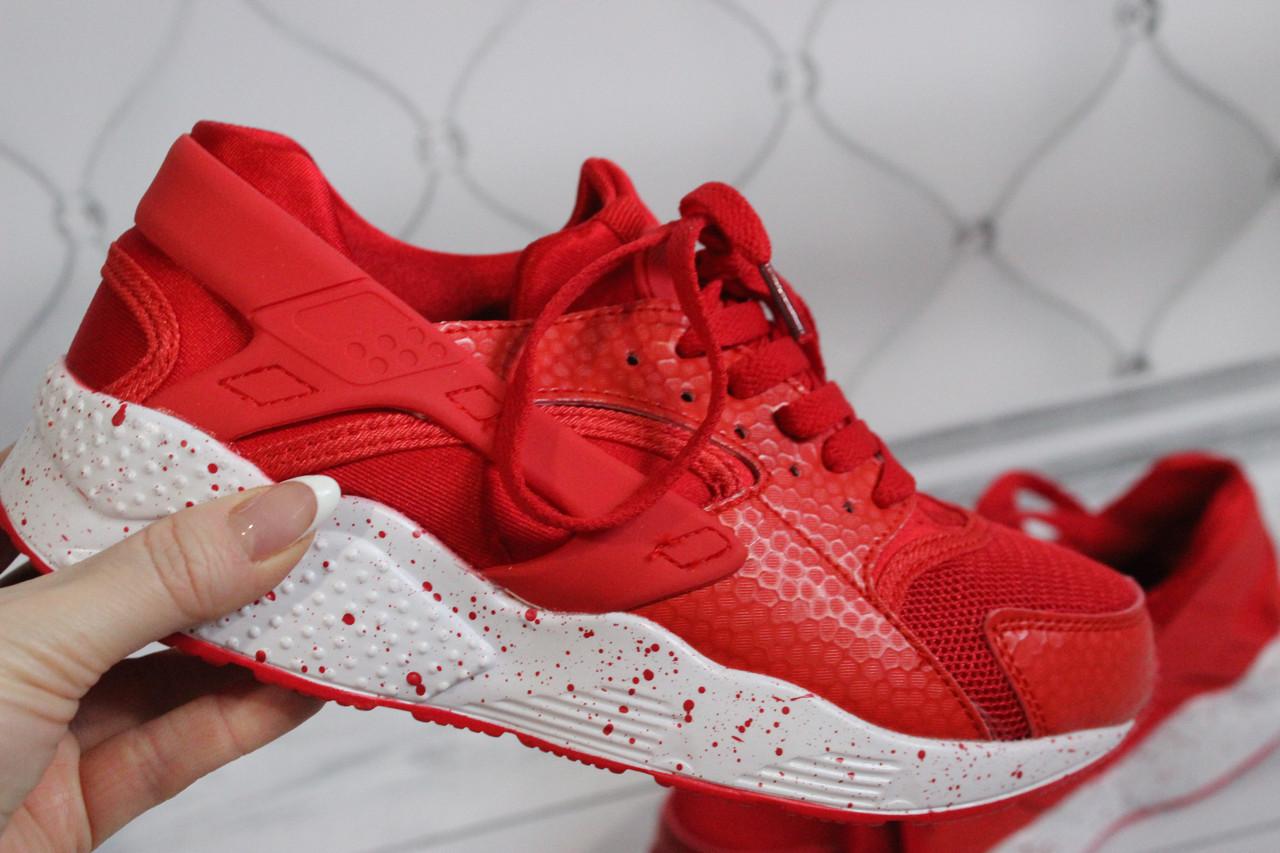 Женские кроссовки красного цвета размер 37