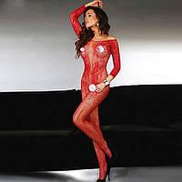 Женское эротическое белье красное 11138-б