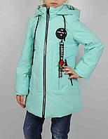 Куртка для девочки  66-391 весна-осень, размеры на рост от 122 до 146 возраст от 6 до 11 лет