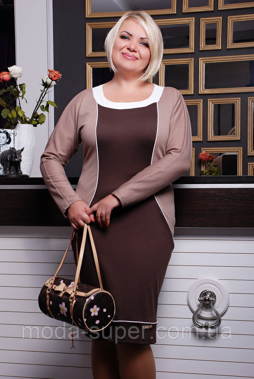 b673f60bf373792 Платье из французского трикотажа - МОДНЯШКА moda-super.com.ua в Харькове