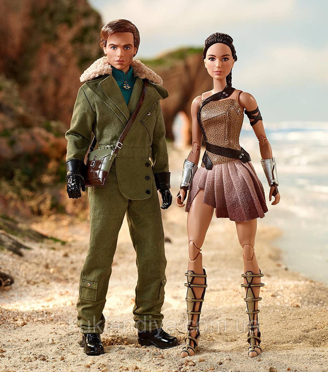 Коллекционный набор Barbie Collector Чудо Женщина Райский остров