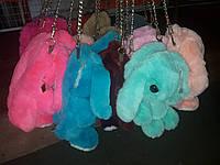 Сумка-рюкзак Собака Собачка меховая, фото 1