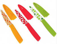 Набор ножей с цветочным рисунком