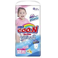 Трусики-подгузники GOO N для девочек 12-20 кг (размер Big (XL), 38 шт) Goo.N (853083)