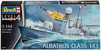 Ракетный катер Fast Attack Craft Albatros Class 143, 1:144, Revell (5148)