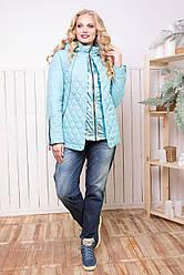 Женская демисезонная куртка размеров 50-58 SV 1232