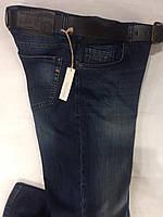 Мужские брендовые джинсы с ремнём