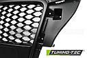 Решетка радиатора GRILL AUDI A3 (8P) RS-TYPE 04.08-07.12 MATT BLACK, фото 3