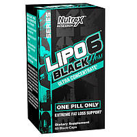 Жиросжигатель для спортсменов Nutrex Lipo-6 Black Hers Ultra Concentrate (60 капс.)
